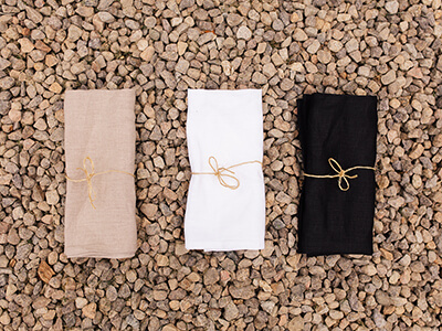 Serviette de table lin